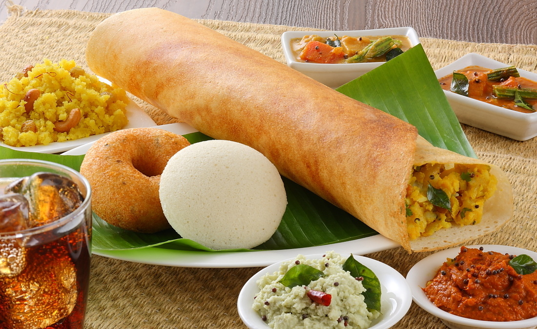 Dosa southern tadka for Abhiruchi south north indian cuisine